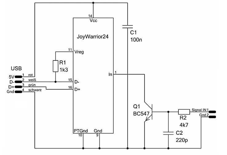 MPX RC Sender mit dem JW24RC Chip als USB-Joystick benutzen | Mario ...